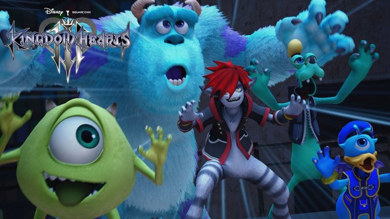 Nuevo trailer de Kingdom Hearts III revela mundo de Monsters Inc.