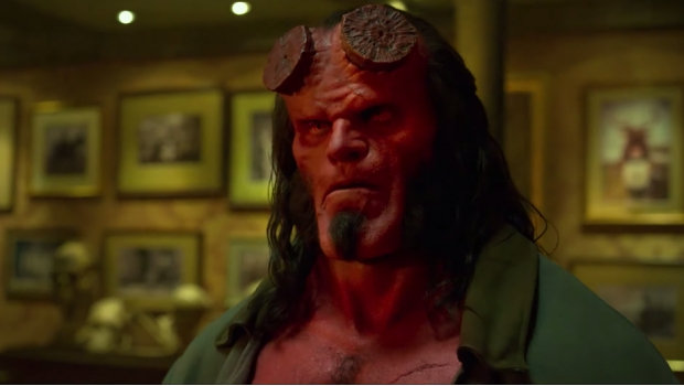 Estrenan infernal trailer de Hellboy
