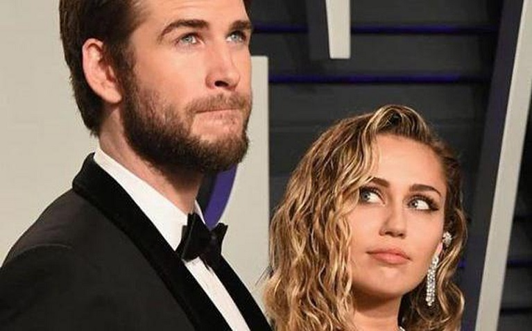 Liam Hemsworth pide divorcio a Miley Cyrus